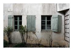 Derriere les volets verts... - Photo of Quincy-le-Vicomte