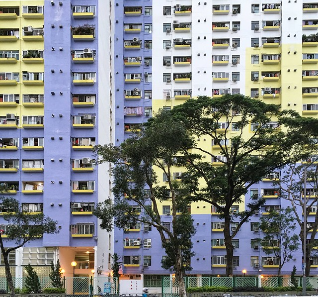 High rise living in the New Territories