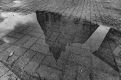 03-Reflet de clocher - Photo of Piégut-Pluviers