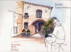 Bélesta, rue du Château. - Photo of Montner