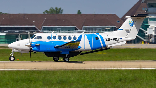 Beechcraft King Air 350ER ES-PKY Estonian Police and Border Guard