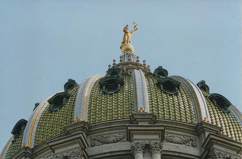 Harrisburg Pennsylvania - State Capitol - Exterior Dome