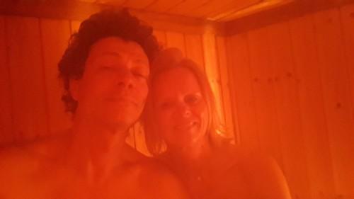 Sauna geniessen 😅😅😅