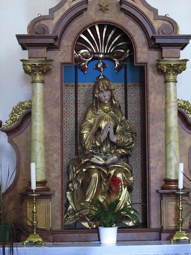 20110826 10 225 Jakobus Kollmitzberg Kirche Maria Statue