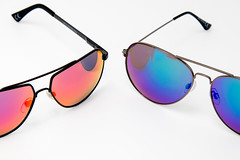 Polarized sunglasses  of different colors