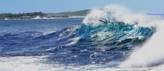 Waves at Bluff beach