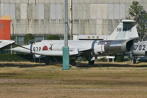 Lockheed F-104J Starfighter '56-8672 / 672'