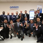 Omron Lab Ceremony