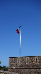 French flag at Fort Napoléon, Terre-de-Haut