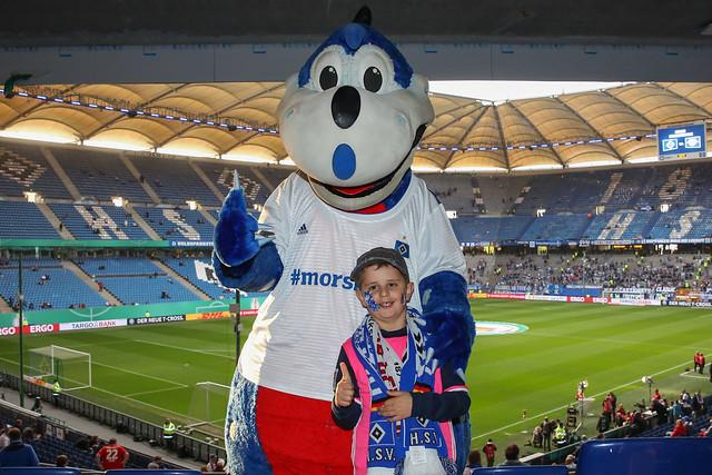 Photo:HSV - RB Leipzig By HSV-Kids