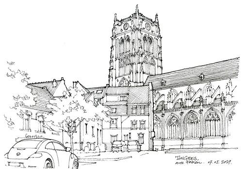 Tongres, basilique Notre-Dame
