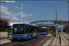 Iveco Bus Urbanway 12 CNG - Tam Montpellier 3M (Transports Alternatifs de Montpellier Méditerranée Métropole) n°222 - Photo of Vendargues