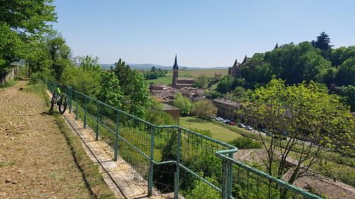 2019 05 Vtt Pierres dorées - La voie du Tacot