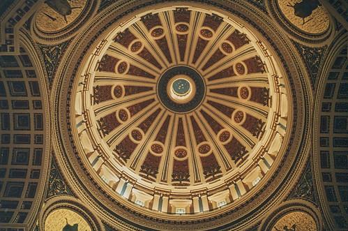 Harrisburg  Pennsylvania  - Pennsylvania's State Capitol - Interior Dome