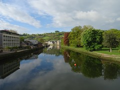 Classic view from Totnes Bridge