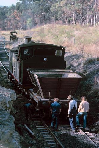 Denman Hill trackwork