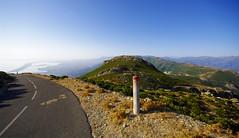 Serra di Pigno road