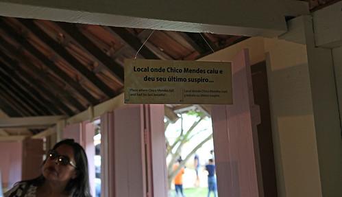 Casa Chiko Mendes, last breath