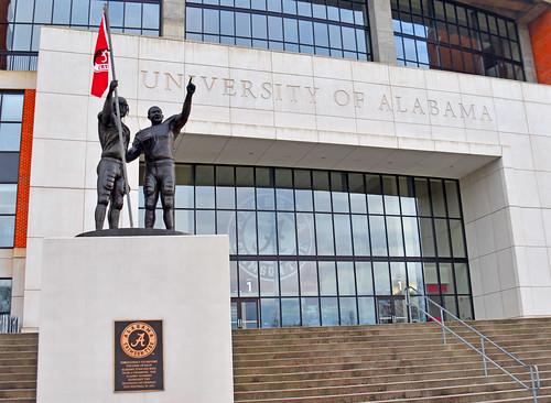 Alabama Crimson Tide Football Stadium (Gate 1) -- Tuscaloosa (AL) February 2019