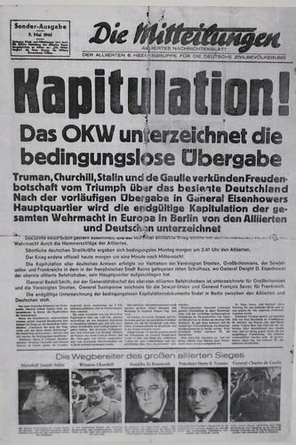 9. Mai 1945: Kapitulation