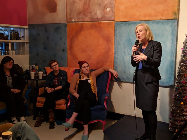 Kirsten Gillibrand at Somersworth