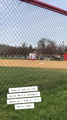 Saint Mary's Softball Game