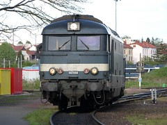 SNCF 67556 at Nevers, 30th April 2008