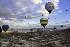Turquie Cappadoce Vol en montgolfière Octobre 2014