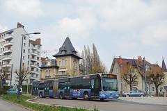 Mercdes Benz Citaro G n°536  -  Besançon, GINKO