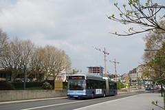 Irisbus Agora L n°505  -  Besançon, GINKO