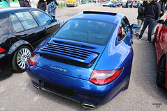 Porsche 911 type997 Carrera S 2005 back - Photo of Soucht