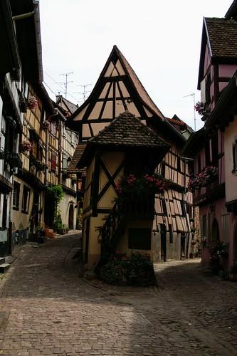 Getting lost in Eguisheim