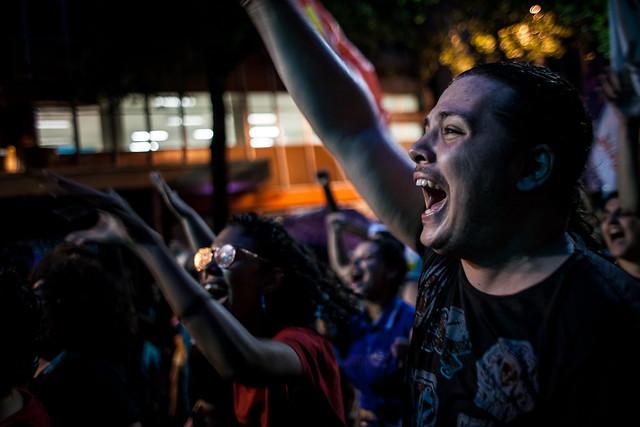 Protesto popular contra a reforma da Previdência no Rio de Janeiro (RJ) - Créditos: Mídia Ninja