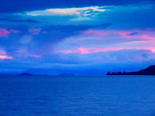 Lake Taupo Sunset