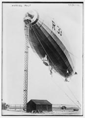 Mooring mast [of R-33] (LOC)