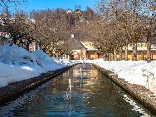 Tagestrip nach Berchtesgaden: Kurgarten
