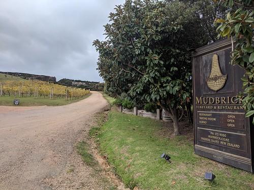 Arriving at Mudbrick