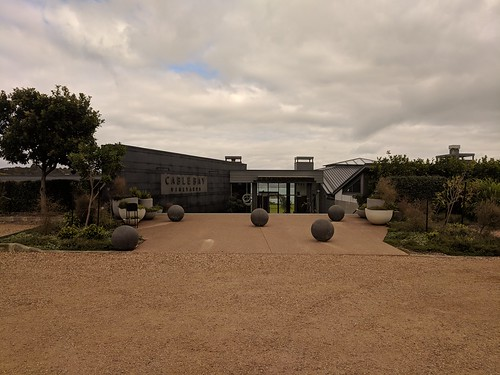 Cable Bay Winery Entrance
