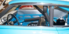 Richard Petty number 43 Ford Torino roll cage interior paneling  427 cu in 08 DSC_0911