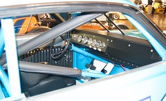 Richard Petty #43 Ford Torino 427 Roll cage, instrument panel pedals steering wheel upholstry 05 DSC_0916