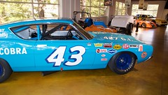 Richard Petty 43 Ford Torino 427 interior paneling, exhaust tube interior colors 04  DSC_0921