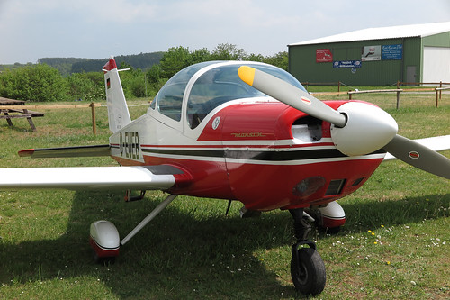 Flugplatz Grasberg, Bo 209 Monsun