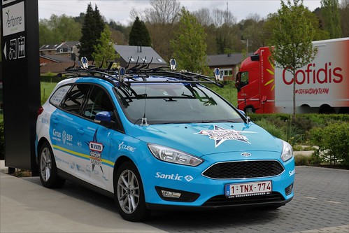 Ford Focus Wanty Groupe Gobert