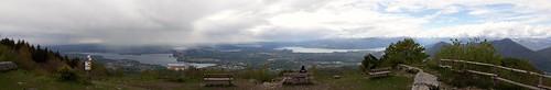 Vista dal Forte di Orino, in Val Cuvia (Varese, Lombardia, Italia)