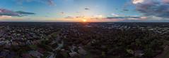 180 Degree Panoramic Sunset