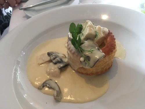 Chicken & Mushroom Vol au Vent, Breaffy House Hotel