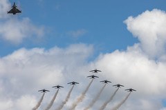 Missing Man Formation - Photo of Muret