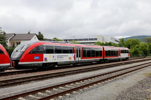 DB Regio 642 229-8 Bundesgartenschau Heilbronn, Miltenberg