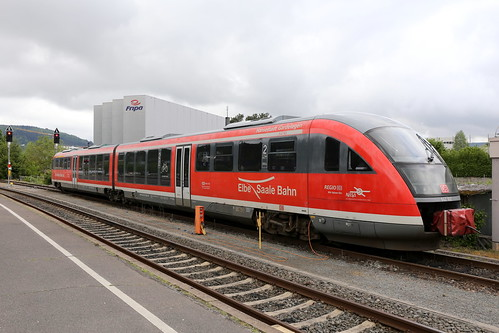 DB Regio 642 162-1 Elbe-Saale-Bahn, MIltenberg am Main