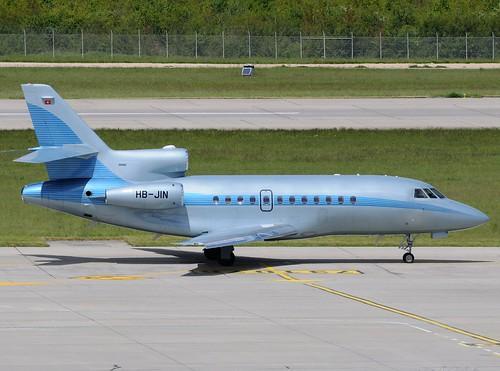 HB-JIN Dassault Falcon 900EX